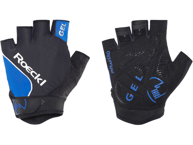 Roeckl Illano Handschuhe schwarz/blau